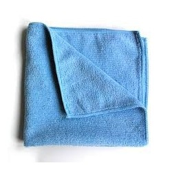 Microfasertuch, blau, fein...